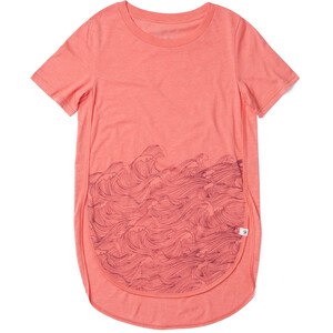 tentree Rising Sea T-Shirt Damen porcelain rose porcelain rose