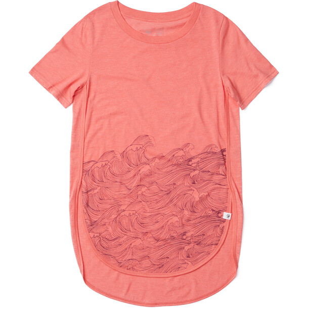 tentree Rising Sea T-Shirt Damen porcelain rose