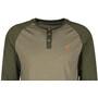 tentree Standard 3.25 Henley Shirt Herr vetiver green/olive night