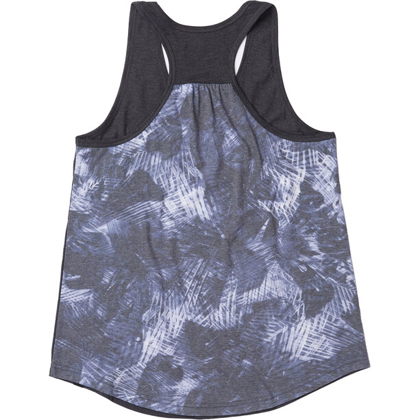 tentree Palmy All Over Print Pocket Tank Dam meteorite black/palmy meteorite