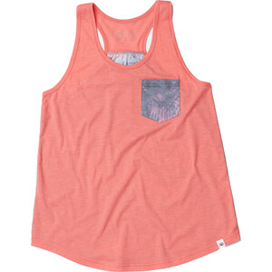 tentree Palmy All Over Print Pocket Tank Dam pink pink