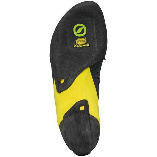 Scarpa Vapor V Chaussures d'escalade Homme, ocean/yellow