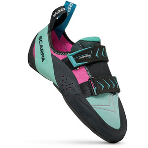 Scarpa Vapor V Chaussures d'escalade Femme, turquoise/rose turquoise/rose