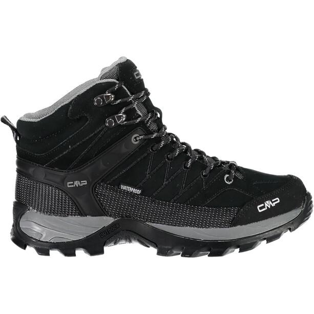 CMP Campagnolo Rigel WP Chaussures de trekking mi-hautes Homme, noir