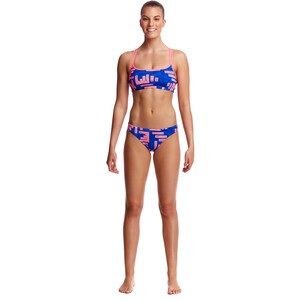 Funkita Criss Cross Top Damen hot rod hot rod