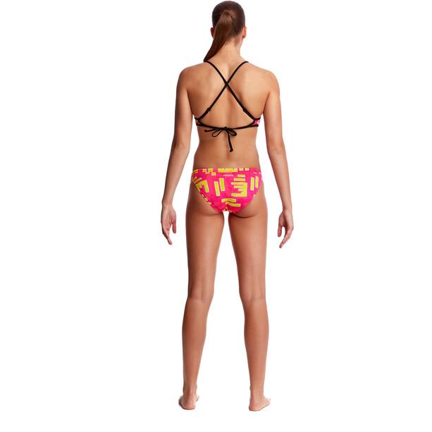 Funkita Cross Back Tie Bikini Top Damen bar bar