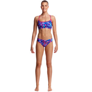 Funkita Sports Briefs Women, rusted rusted