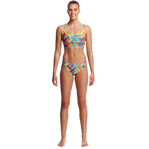 Funkita Sports Top Dam panel pop panel pop