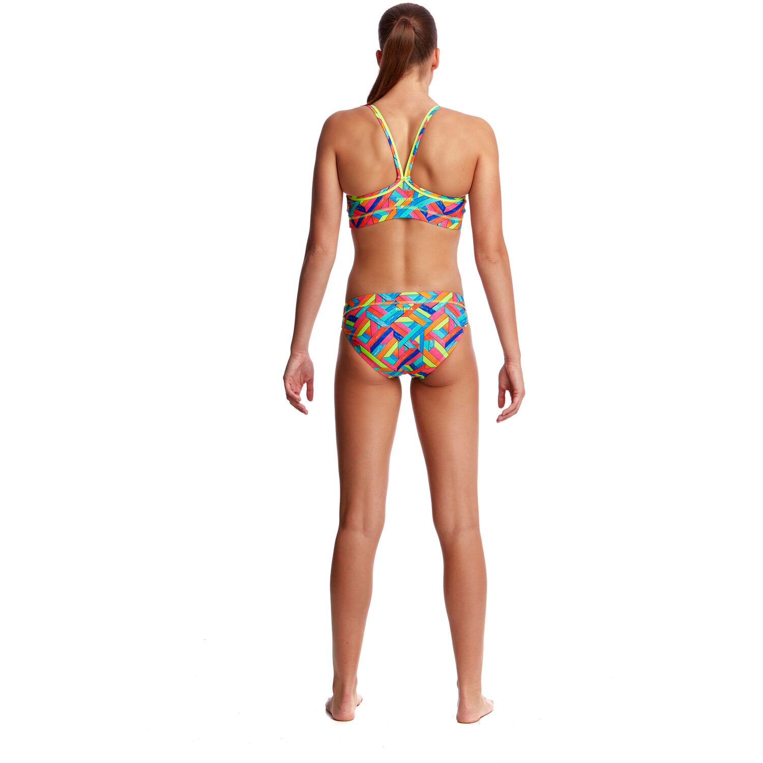 Funkita Sports Top Damen panel pop