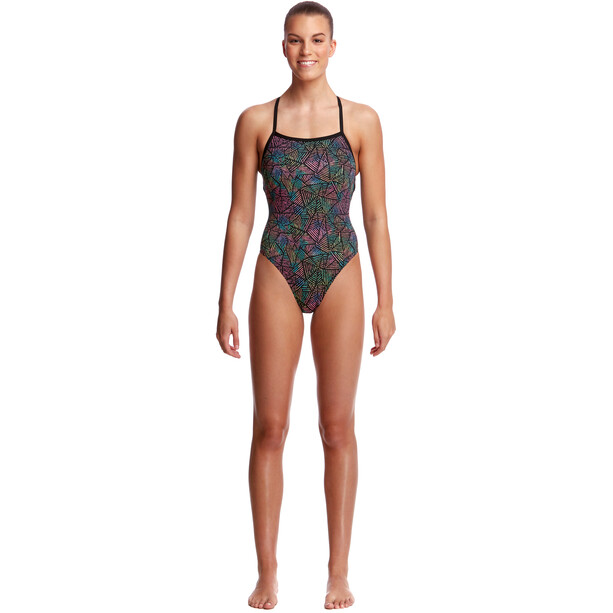 Funkita Strapped In One Piece Swimsuit Dame poison pop