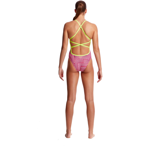 Funkita Strapped In One Piece Badeanzug Damen swim spin