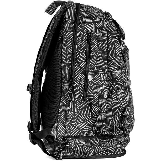 Funky Trunks Elite Squad Rucksack Herren black widow