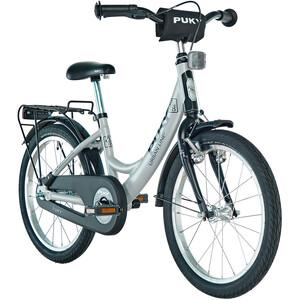 "Puky ZL 18-1 Bicycle aluminium 18"" Kids light grey/black light grey/black"