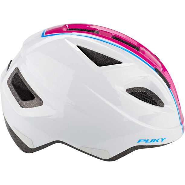 Puky PH 8 Helm Kinder weiß/pink