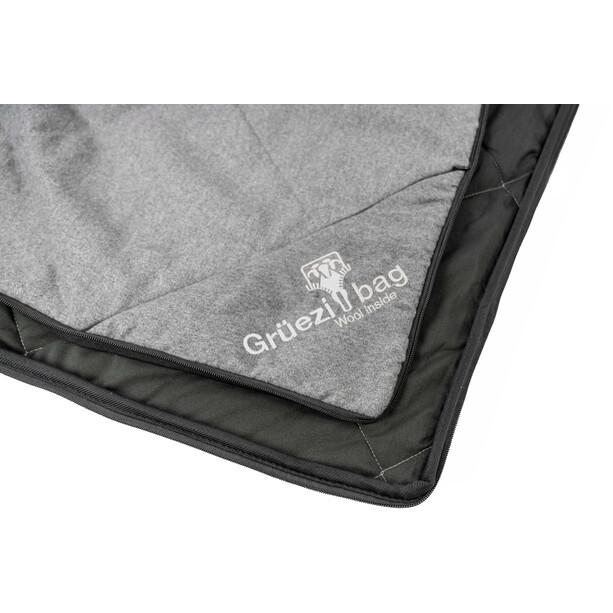 Grüezi-Bag WellhealthBlanket Wool Schlafsack grau