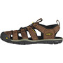 Keen Clearwater CNX Leather Sandals Herre Brun