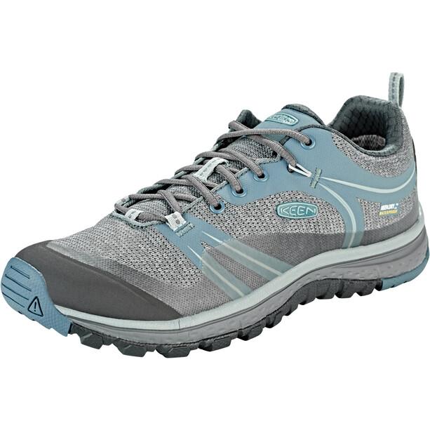 Keen Terradora WP Shoes Dam grå/blå