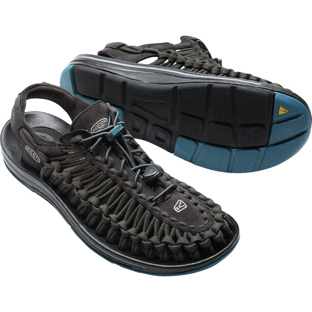 Keen Uneek Flat Sandals Herr raven/ink blue
