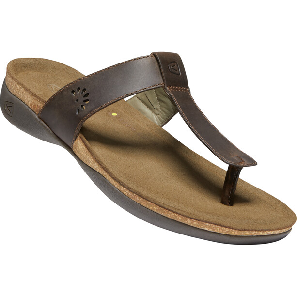 Keen Kaci Ana Posted Sandals Dam dark earth