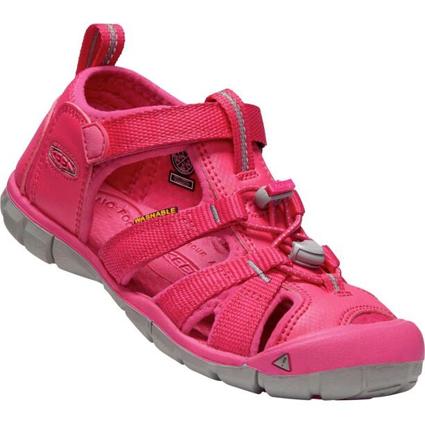 Keen Seacamp II CNX Sandals Barn hot pink