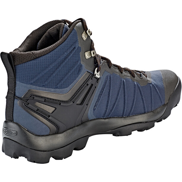 Keen Venture WP Mid Shoes Herr blue nights/raven