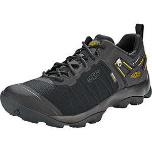 Keen Venture WP Shoes Herr black/vibrant yellow black/vibrant yellow