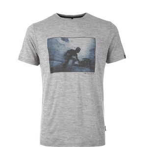 Pally'Hi Shape of Fluid T-Shirt Herren heather grey heather grey