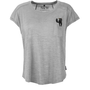 Pally'Hi Foxy Loose Top Damen heather grey heather grey