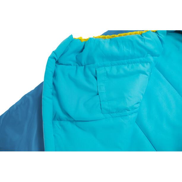 Grüezi-Bag Grow Colorful Schlafsack Kinder water