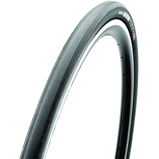 """Maxxis Velocita Tubular Tyre 28"""" MaxxShield, musta"""