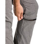 VAUDE Skomer II Pantalon convertible avec fermeture éclair Femme, marron
