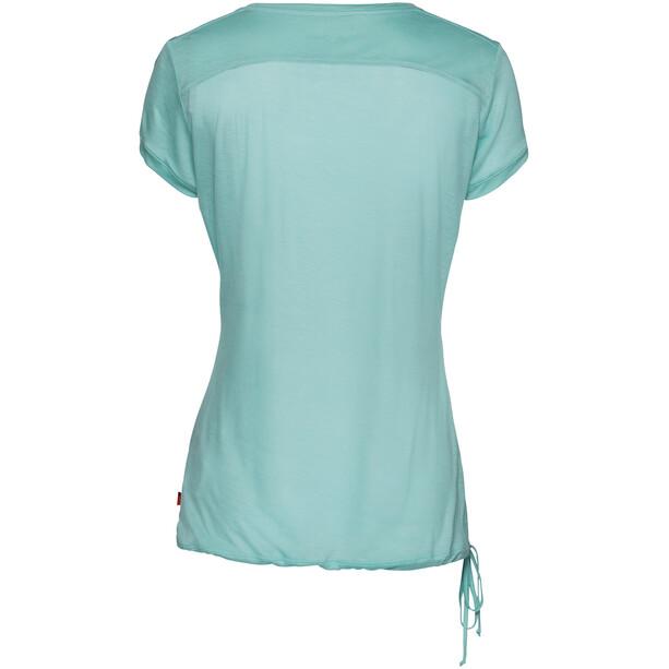 VAUDE Vallanta II Shirt Damen glacier