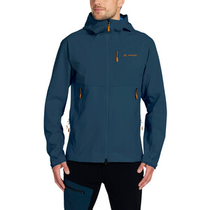 VAUDE Roccia Softshell Hoodie Herren baltic sea baltic sea