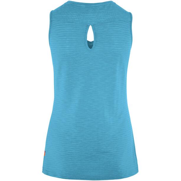 VAUDE Skomer Top Damen crystal blue
