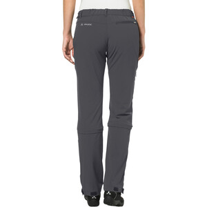 VAUDE Farley II Stretch T-Zip Capri Damen iron iron
