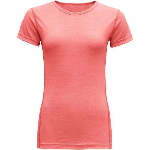Devold Breeze T-Shirt Damen coral