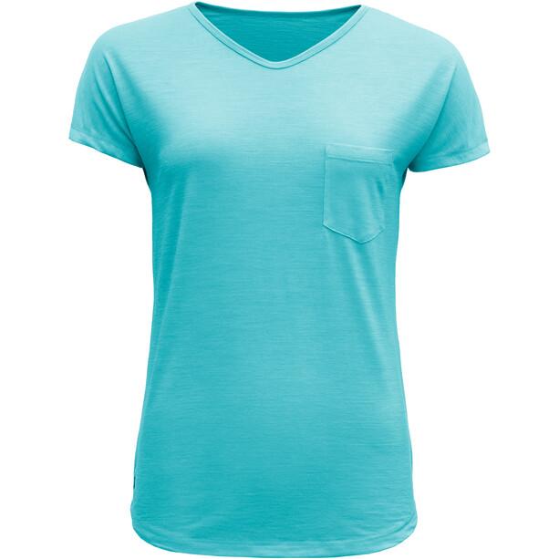 Devold Herdal T-Shirt Damen bay