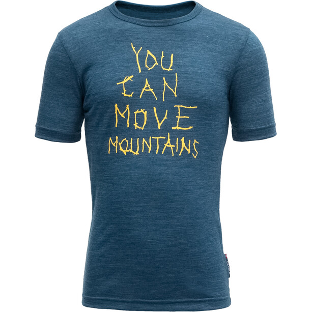 Devold Moving Mountain T-Shirt Kinder subsea