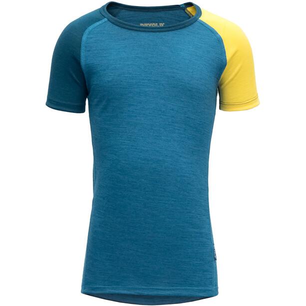 Devold Breeze T-Shirt Barn blue