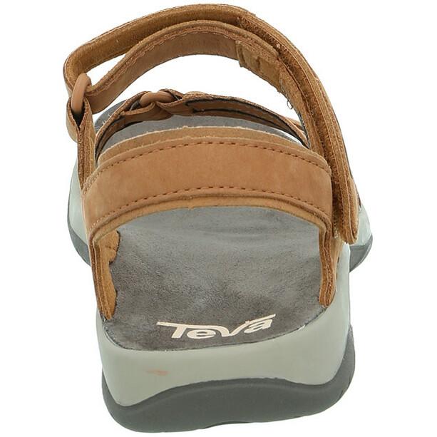 Teva Elzada Leather Sandals Women beige