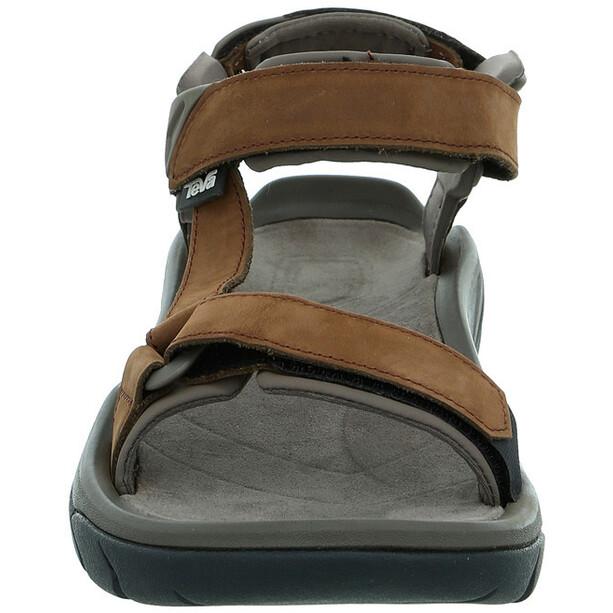 Teva Terra Fi 5 Universal Leather Sandals Men carafe