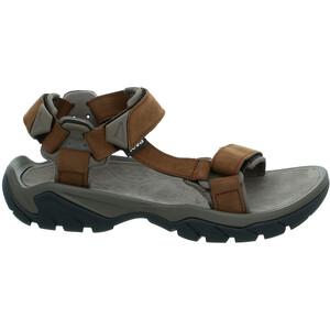 Teva Terra Fi 5 Universal Leather Sandals Men carafe carafe