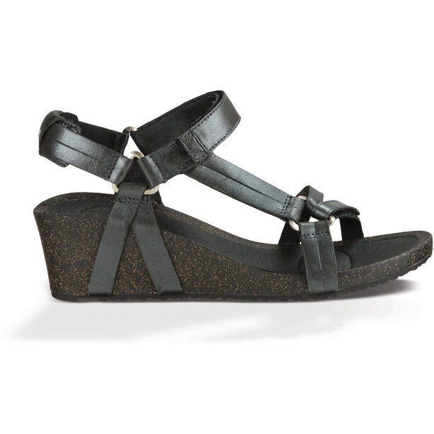 Teva Ysidro Universal Wedge Metallic Sandals Dam gunmetal