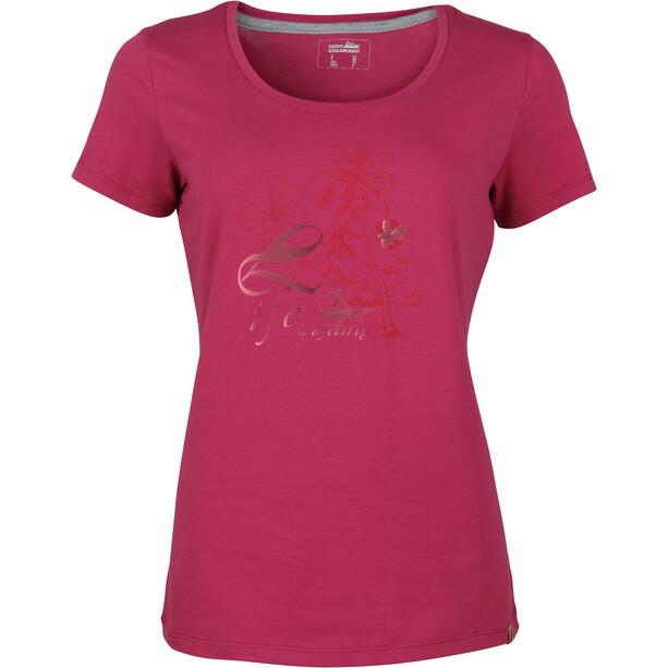 High Colorado Garda 4 T-Shirt Femme, rose