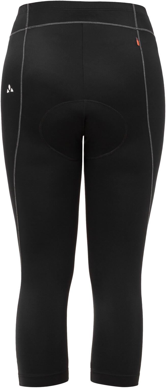 VAUDE Damen Advanced 3//4 Pants Iii 3//4-radhose mit Funktionelles Sitzpolster Hose