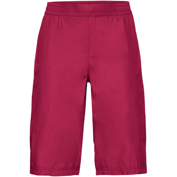 VAUDE Drop Shorts Dame crimson red
