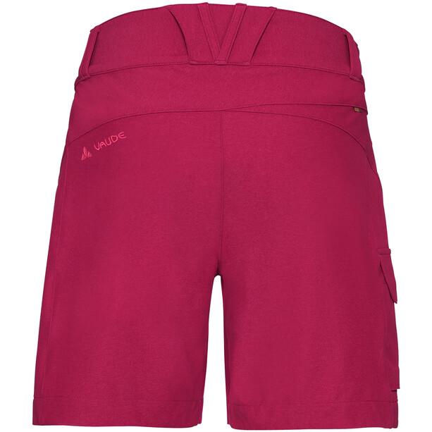 VAUDE Tremalzini Shorts Damen crimson red