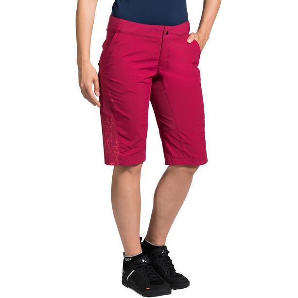 VAUDE Downieville Shorts Damen crimson red