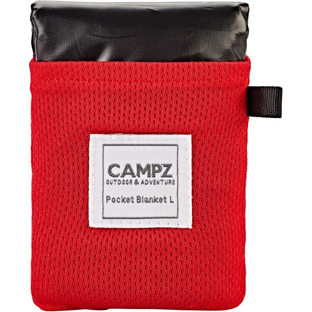 CAMPZ Taschen-Picknickdecke L schwarz