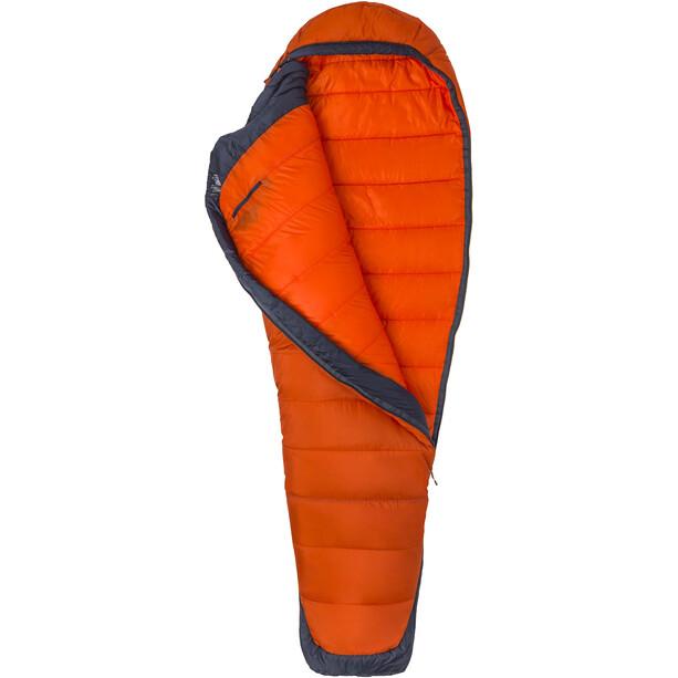 Marmot Trestles Elite Eco 0 Schlafsack regular orange haze/dark steel